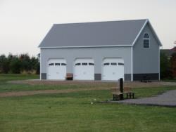 Hay & Corn barn