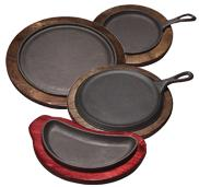 Round and Crescent Serving Griddles